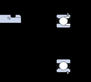 50 mm x 90 mm x 20 mm  SKF 210-2ZNR deep groove ball bearings