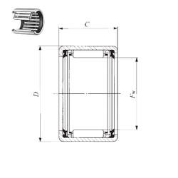 IKO TLA 1516 UU needle roller bearings