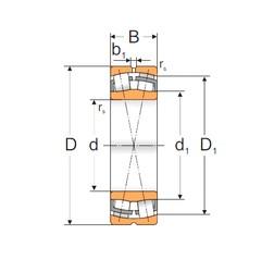 160 mm x 290 mm x 104 mm  Loyal 23232 MBW33 spherical roller bearings