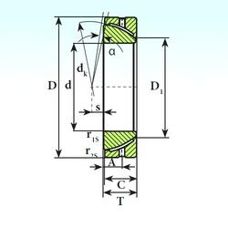 ISB GAC 30 S plain bearings