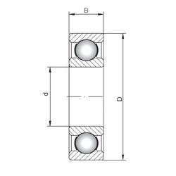 95 mm x 240 mm x 55 mm  ISO 6419 deep groove ball bearings