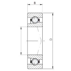 Loyal 71932 CTBP4 angular contact ball bearings