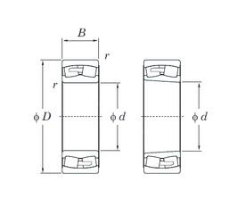 280 mm x 460 mm x 146 mm  KOYO 23156RHA spherical roller bearings