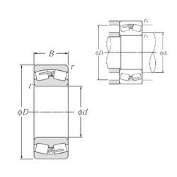 560 mm x 920 mm x 280 mm  NTN 231/560B spherical roller bearings