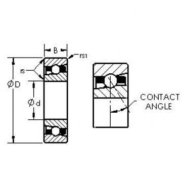 AST H71932AC angular contact ball bearings