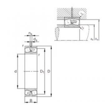 560 mm x 920 mm x 280 mm  FAG 231/560-E1A-MB1 spherical roller bearings