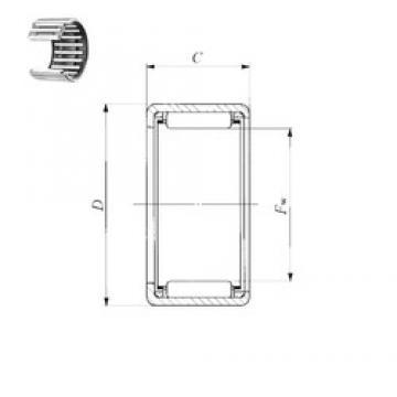 IKO TLA 3520 Z needle roller bearings