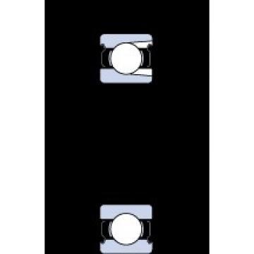 40 mm x 80 mm x 18 mm  SKF 208-2Z deep groove ball bearings