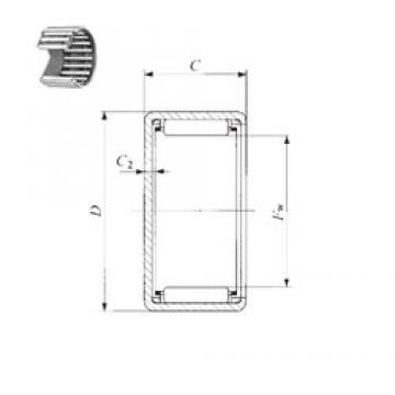 IKO TLAM 1516 needle roller bearings