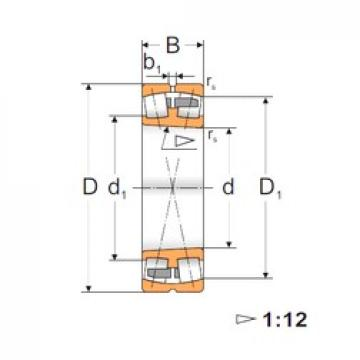 160 mm x 290 mm x 104 mm  Loyal 23232 KMBW33 spherical roller bearings