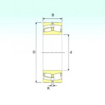 160 mm x 290 mm x 104 mm  ISB 23232 spherical roller bearings