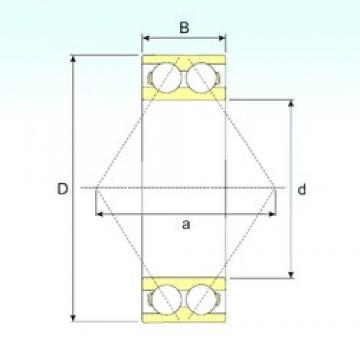 20 mm x 47 mm x 20,6 mm  CYSD 3204 angular contact ball bearings