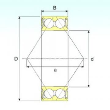 20 mm x 47 mm x 20,6 mm  CYSD 5204 2RS angular contact ball bearings