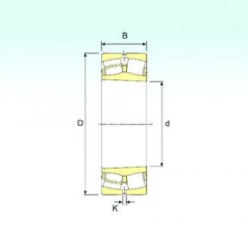 280 mm x 460 mm x 146 mm  ISB 23156 K spherical roller bearings