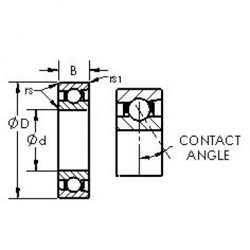 AST 71932C angular contact ball bearings