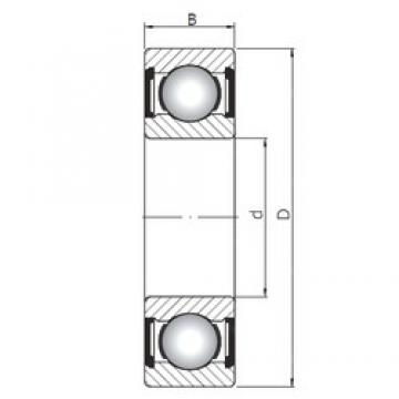 20 mm x 47 mm x 20,6 mm  ISO 63204 ZZ deep groove ball bearings