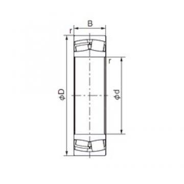 280 mm x 460 mm x 146 mm  NACHI 23156E cylindrical roller bearings