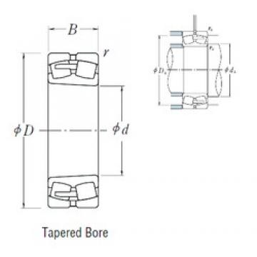 280 mm x 460 mm x 146 mm  NSK 23156CAKE4 spherical roller bearings
