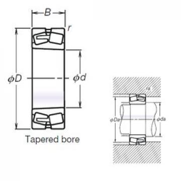 280 mm x 460 mm x 146 mm  NSK TL23156CAKE4 spherical roller bearings