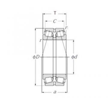 NTN 413156 tapered roller bearings