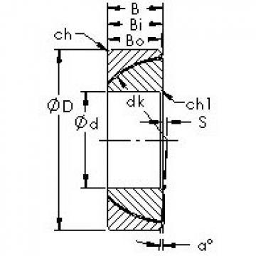 AST GAC30T plain bearings