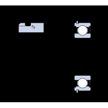 17 mm x 40 mm x 12 mm  SKF 6203-ZNR deep groove ball bearings